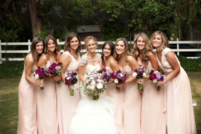 Davis bridesmaids