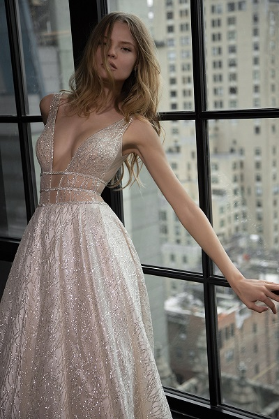 Sheer Wedding Dress 2018 Trends