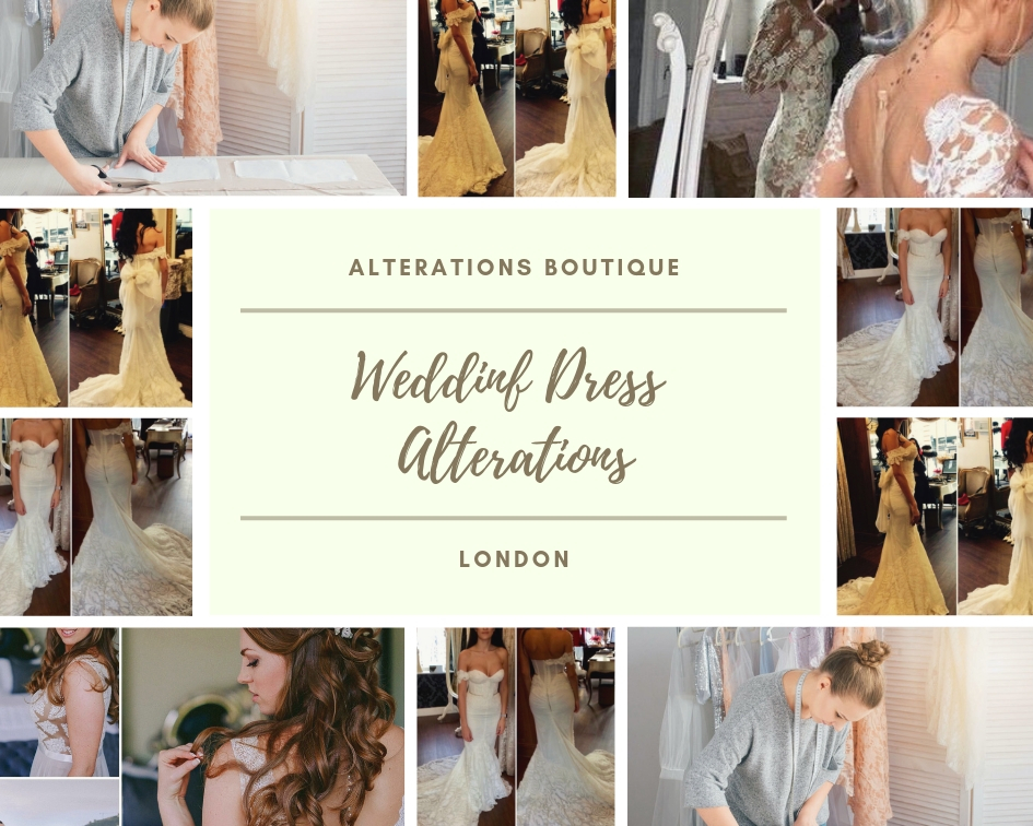 wedding gown alterations london