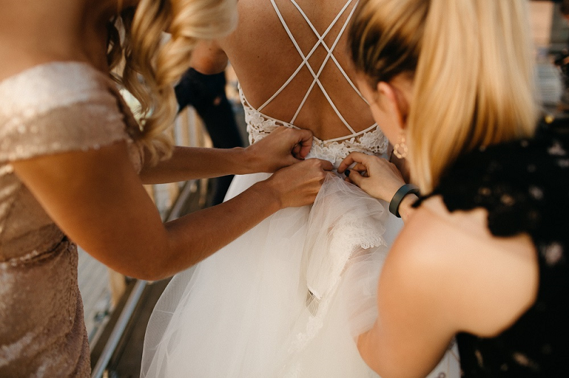 The Ultimate Wedding Dress Bustle Guide