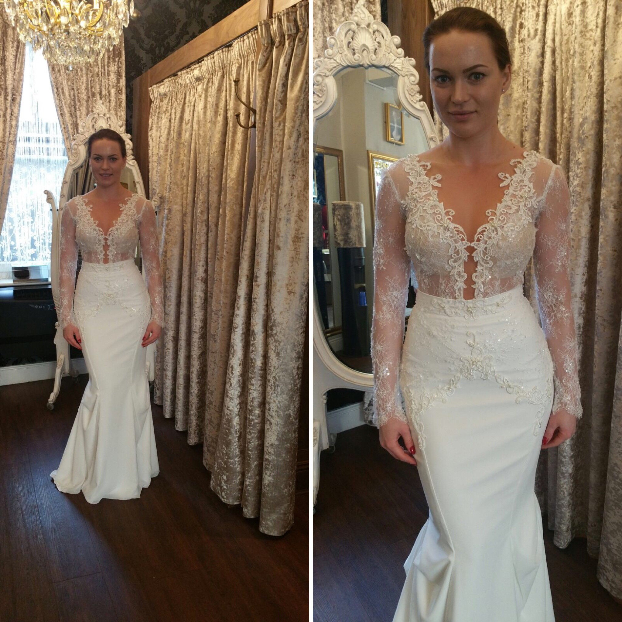 Wedding Gown Alteration: Gallery